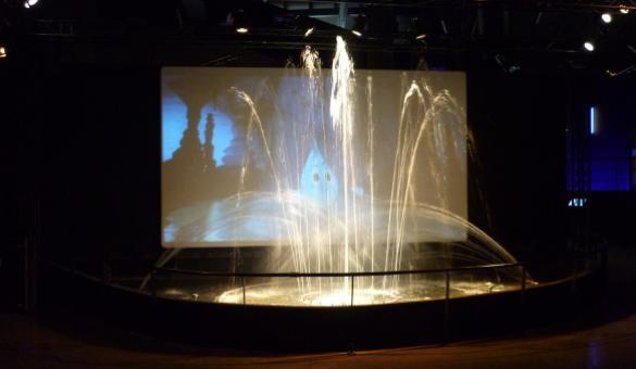 Waterhouse - Source O rama - Chaudfontaine - Vue du bouquet final