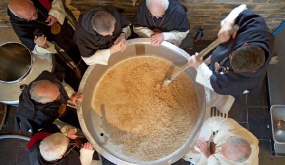 Discover the 4 beers made by the microbrewery in the Villers Abbey