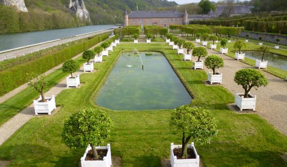 Visitare il Castello e i Giardini di Freÿr-sur-Meuse ad Hastière - Provincia di Namur (Vallonia)