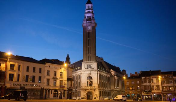 Beffroi di Charleroi, Patrimonio Mondiale dell'Unesco