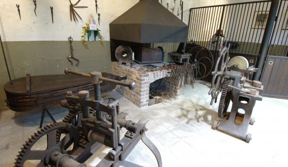 Visitare la Sala del maniscalco al Museo del Cavallo di Spa - Provincia di Liegi (Vallonia)