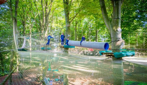 Aventure Parc Wavre, le parc de loisirs branchés à 2 pas de Bruxelles
