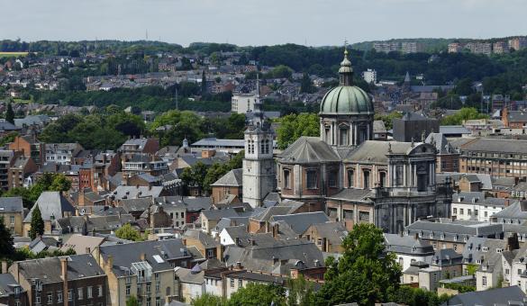 Panorama - Namur - toits
