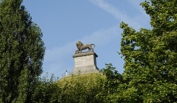 Admirez la célèbre Butte du Lion à Waterloo