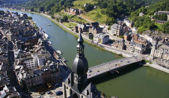 Dinant - Panorama - pont - citadelle
