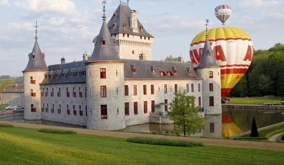 Découvrez le Château Jemeppe, situé à Hargimont en province de Luxembourg