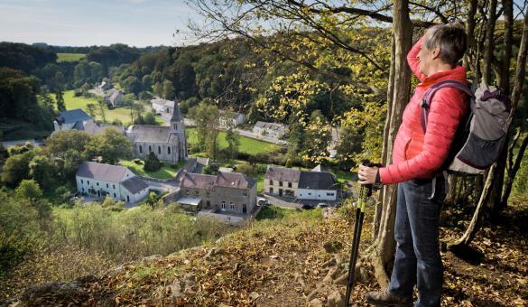 Lompret - Plus Beaux Villages de Wallonie - vue panoramique