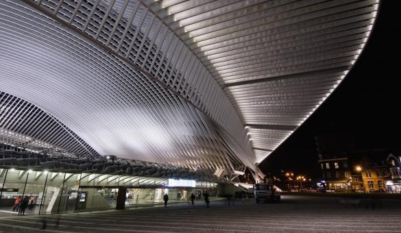 Liège - Gare de Liège-Guillemins - architecte Santiago Calatrava