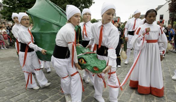 Mons - Procession du Car d'Or - 'Doudou' - patrimoine immatériel de l'UNESCO