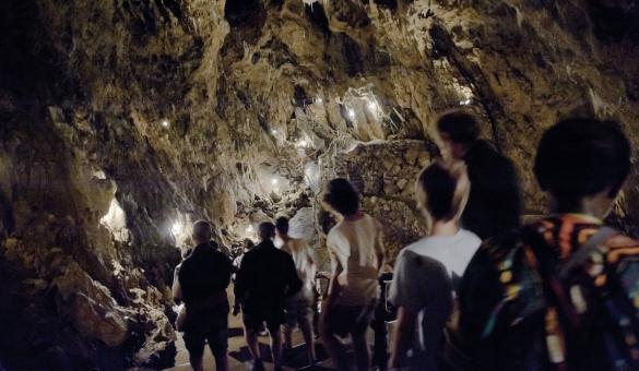 Explore La Merveilleuse, a grotto in Dinant