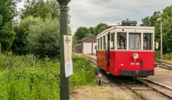 Come aboard the Aisne Tourist Tram (TTA) in Erezée