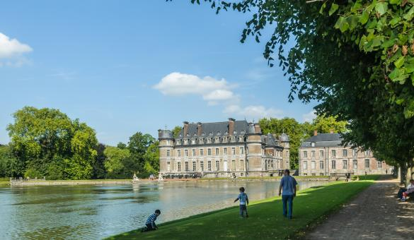 Ontdek het Kasteel van Beloeil en zijn park in de provincie Henegouwen