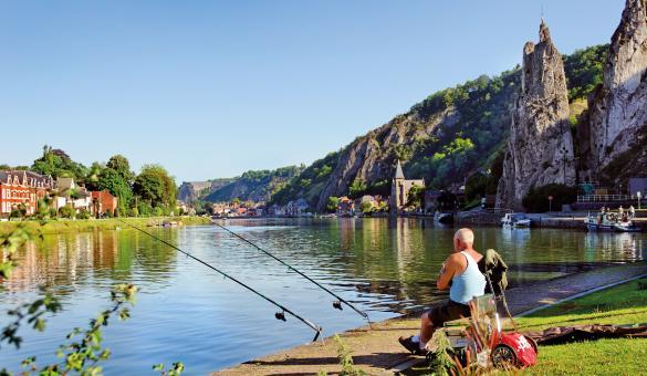 Pêche - Bord de Meuse - Dinant