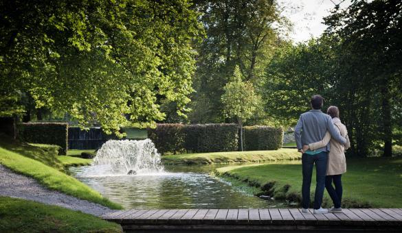 Ga wandelen in de Tuinen van Annevoie, de enige watertuinen van België