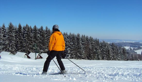 Enjoy the Baraque de Fraiture and its alpine ski slopes in Vielsalm