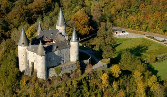 Visitare il Castello di Vêves a Celles - Provincia di Namur (Vallonia)