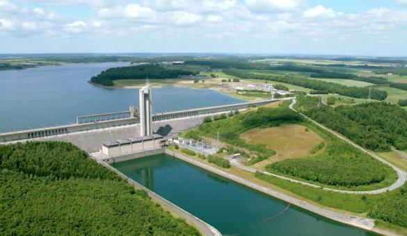 Les Lacs de l'Eau d'Heure, Barrage de la Plate Taille in Boussu-lez-Walcourt