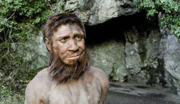 Venez découvrir la Grotte de l'Homme de Spy qui surplombe la vallée de l'Orneau