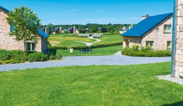 Villas avec terrasse du village de vacances Landal Village L'Eau d'Heure
