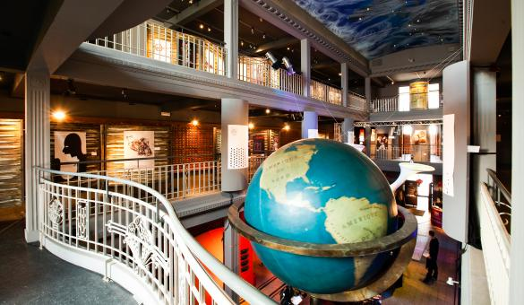 Come and discover the world's knowledge in the Mundaneum in Mons