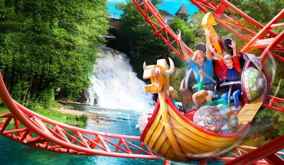 Rendez-vous au parc d'attractions Plopsa Coo situé à Stavelot, dans les Ardennes
