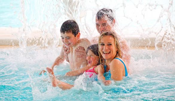 Enjoy a relaxing and fun day in the Aqualibi aquatic park in Wavre
