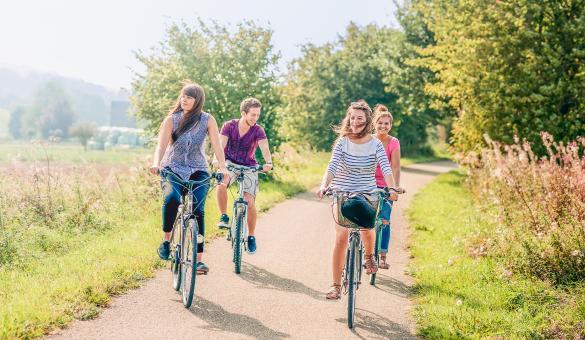 Enjoy a bike ride in the Condroz-Famenne