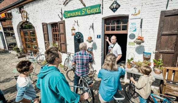 Taverne Saint-Géry à Aubechies, un des Plus Beaux Villages de Wallonie