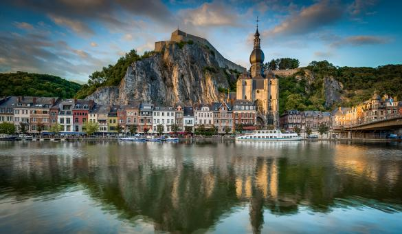 Dinant - Meuse - Citadelle - Collégiale Notre-Dame