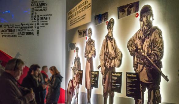 Bastogne - War - Museum - Mémoire - seconde Guerre Mondiale
