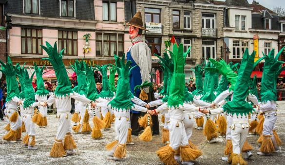 Découvrez des géants représentatifs de la Wallonie et son riche folklore à Tilff