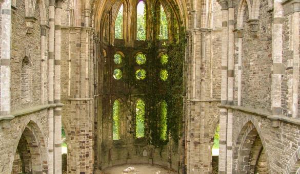 Abbaye - Villers-la-Ville - patrimoine - Wallonie
