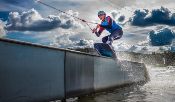 Give The Spin Cablepark, a waterski lift at the Eau d'Heure lakes, a try