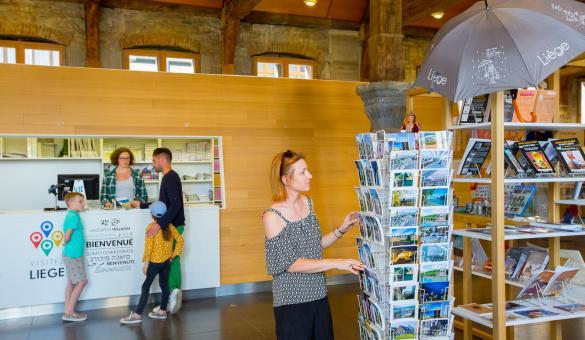 Liège - Famille - Ville - Membres de WBT - Maison du Tourisme