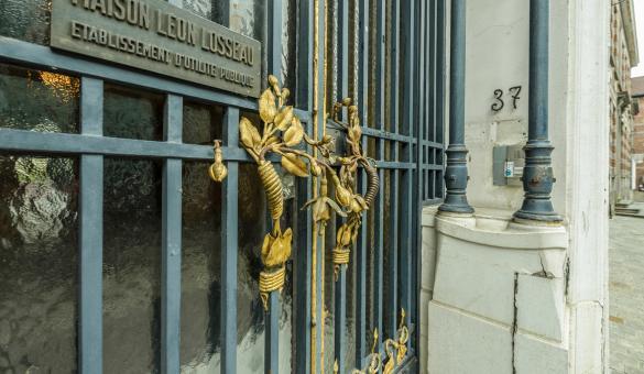 Maison Léon Losseau, trésor de l'Art Nouveau à Mons