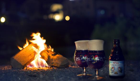 Bière Chouffe N'Ice de la brasserie d'Achouffe