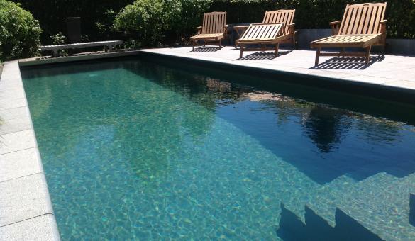 La Maison du Meunier à Crupet - Vue de la piscine