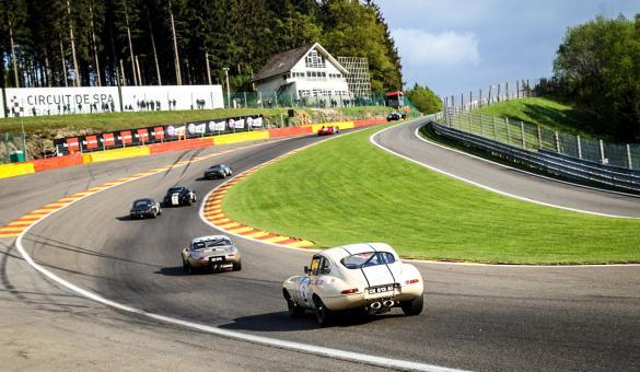 Spa Classic Francorchamps course automobile
