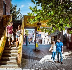 Louvain-la-neuve - Place Galilee