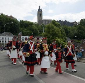 Thuin - Marche Militaire - Saint-roch - Patrimoine immatériel