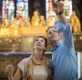Huy - Collegiale - Notre-dame - couple