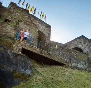 La Roche-en-ardenne - Chateau - Féodal - couple
