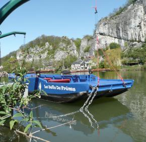 Le passage d'eau - Profondeville - Belle de Frênes