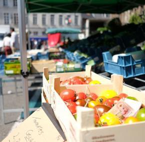Marché - fruit - légume - Enghien