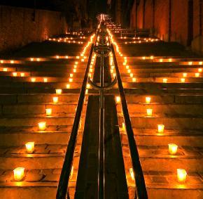 Discover Liège illuminated during the Nocturne des Coteaux de la Citadelle
