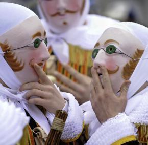 Binche - Carnaval - patrimoine immatériel de l'UNESCO