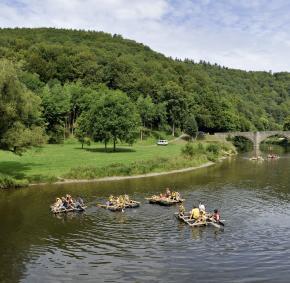 Bouillon - Semois - Forêts et bois - Activités - sport - détente - Paysages et nature - Lacs et cours d'eau
