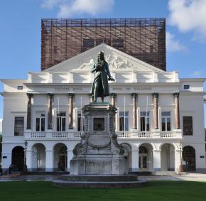 Splendide bâtiment du Théâtre Royal de Liège - Opéra Royal de Wallonie