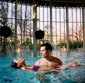 Enjoy the many treatments offered by the Thermes de Spa