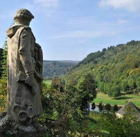 Statue - Godefroid de Bouillon
